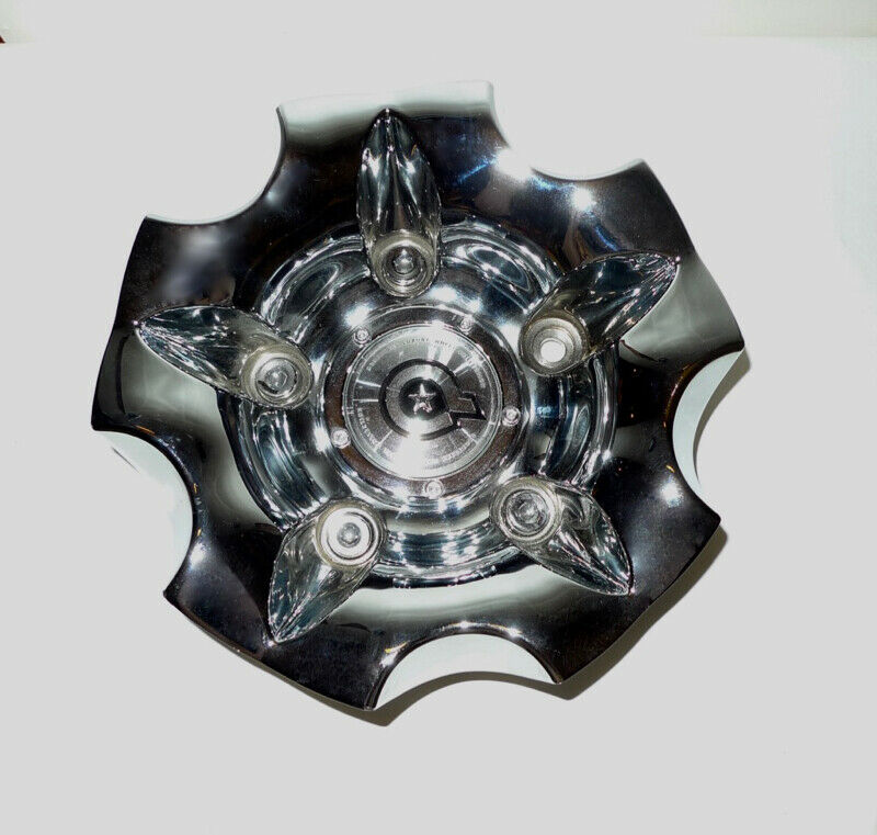 Dropstar Luxury Wheel Collection Chrome Rim Center Cap No Bolt