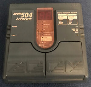 Zoom 504 Acoustic stereo pedal.
