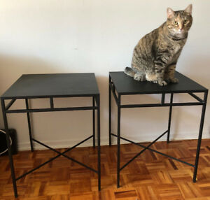Two Accent/Bedside Tables - $80 for the pair