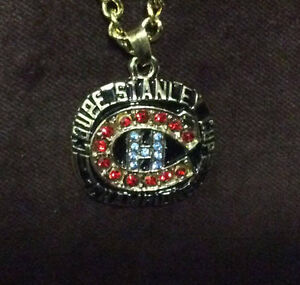 Montreal Canadians Stanley Cup Rings And Chain!