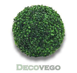 Buchsbaum Kugel Plastikpflanze Künstliche Pflanze Buxus Deko  Ø28cm Decovego