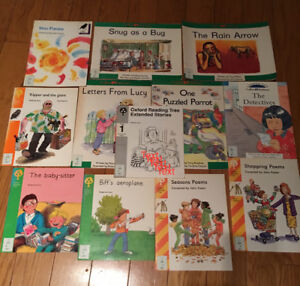 Collins Pathways and Oxford Reading Tree books- Set of 10 books