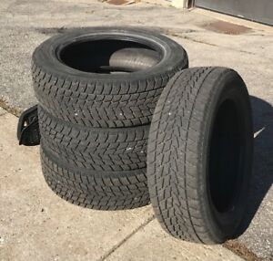 1 Winter Tires Set (4) - TOYO - 225/60R18 - $300