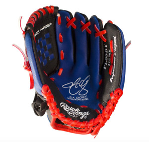Rawlings Kids BASEBALL GLOVE - Blue Jays - R.A. Dickey - Right