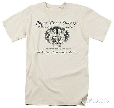 Fight Club   Paper Street Apparel T Shirt L   Cream