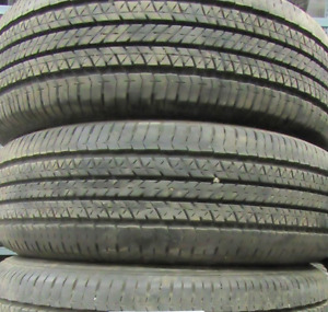 Bridgestone Turanza EL400 205/70/15=85-90% tread=4 tires $325