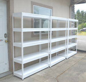 Free Delivery, Steel Shelving, 5 Shelf, Garage/Warehouse Shelves