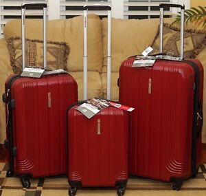 Brand New Swiss Gear 3-Piece Hard-Sided Expandable Luggage Set