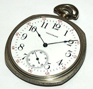 Waltham Pocket Watch - Size 12 With 15 Jewels West Island Greater Montréal image 2