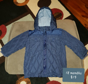 18 month boys toddler jackets