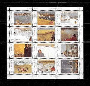 Stamps Canada #1016/27 - Pane of 12 - Canada Day - 1984 - NH