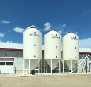Optimum Smooth Wall Grain/Fertilizer Bins