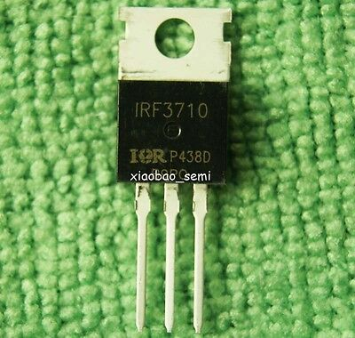 10pcs New Irf3710 Power Mosfet N-channel Ir To-220
