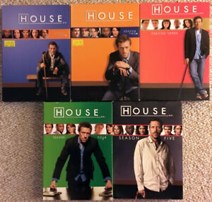House MD (TV series) DVDs seasons 1 - 5