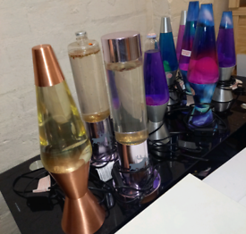 Lava Lamps only £10. £15. RBW Clearance Outlet Leicester City