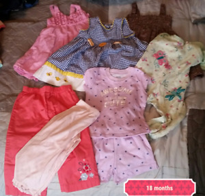 Baby girl clothing 18 months