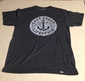 East Coast Lifestyle -Vintage TShirt -NEW