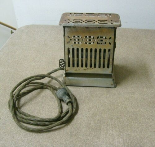 Antique General Electric toaster Untested Hotpoint 159T25 Bridgeport Conn