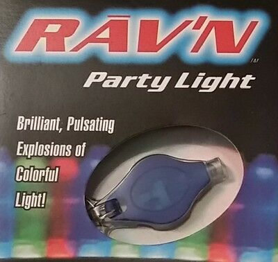 RARE GENUINE Photon Rav'n Ribbon Rave Party Keychain LED Micro Light (Unopened)