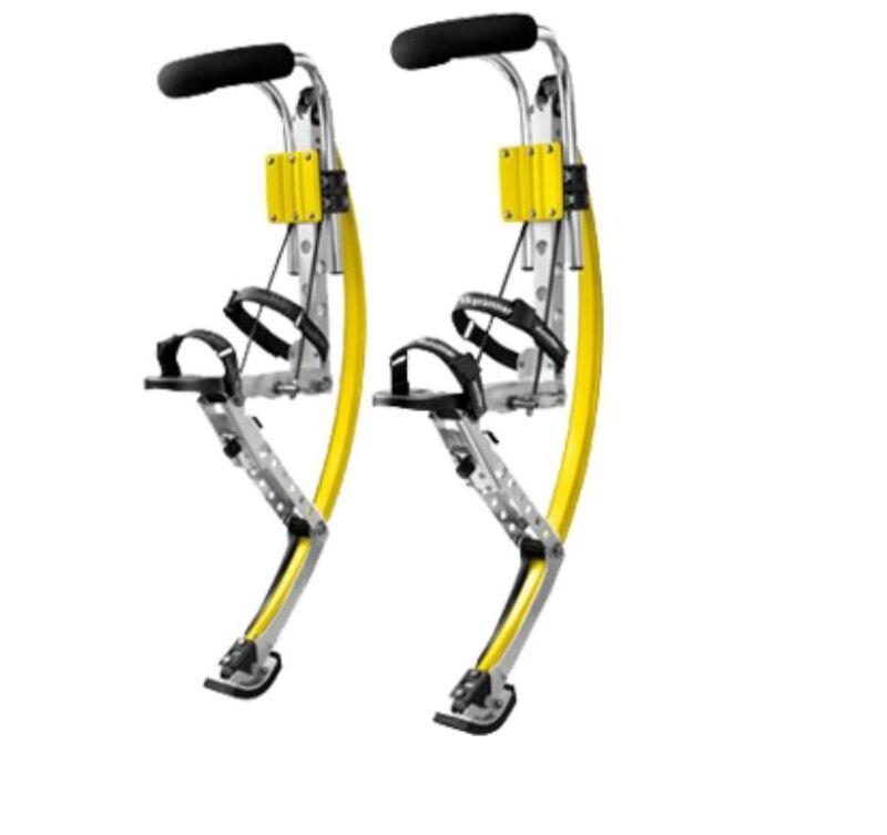 Adult Kangaroo Shoes Jump Stilts Spring Pogo Stilts Fitness Xmas Gift 110-150lbs