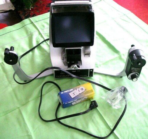 Vintage GOKO Editor Viewer Model NF3003 NF System 12 8MM Made in Japan- WORKING