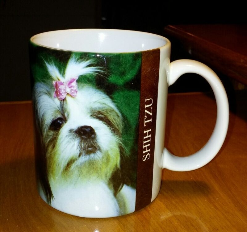 Shih Tzu Original Color Coffee Mug Cup Legend Story Of Ceramic Colorful 8 oz