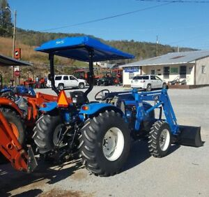 UNIVERSAL FORD NEW HOLLAND LS Tractor Canopy BLUE 60  W X 65  L Polyethylene & LS Tractor   eBay