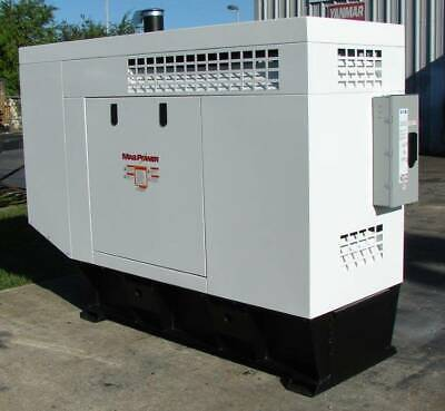 New Yanmar Mp35-35 Kw Mechanical Genset Tag Mp35