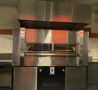 Wood Stone Ws-fd-8645 Fire Deck Pizza Oven W Exhaust Hood - Nat. Gas