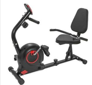 NEW RECUMBENT EXERCISE BIKE INDOOR MB5050 stationary bicycle cardio workout fitness home gym new  low as $169.95