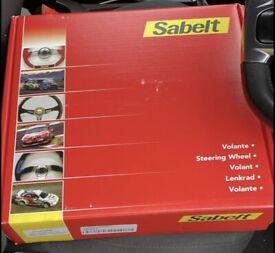 Sabelt racing steering wheel