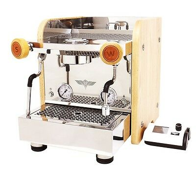 ELROCIO Espresso Coffee Machine ZARRE Mordern Stainless Design ART Of Barista