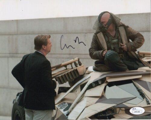 Christopher Nolan Batman Autographed Signed 8x10 Photo JSA COA #4