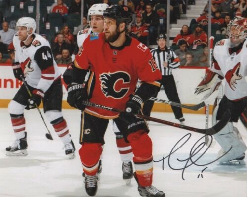 Calgary Flames Tanner Glass Autographed Signed 8x10 NHL Photo COA