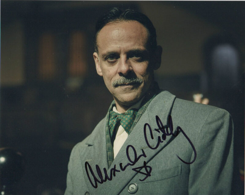 Alexander Siddig Peaky Blinders Autographed Signed 8x10 Photo COA #4