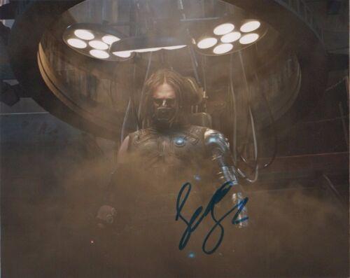 Sebastian Stan Captain America Civil War Autographed Signed 8x10 Photo COA #S7