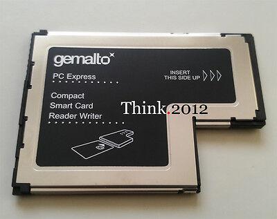 New Lenovo Gemalto ExpressCard 54 Smart Card Writer Reader FRU 41N3045  41N3043