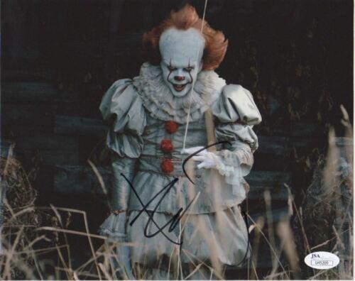 Bill Skarsgard IT Autographed Signed 8x10 Photo JSA COA #6