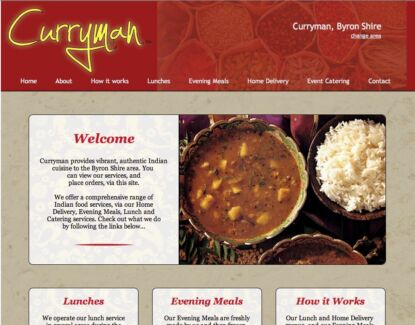 Curryman™ online Indian food service - READY FOR FRANCHISE! Mullumbimby Byron Area Preview