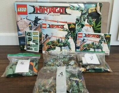 LEGO The LEGO Ninjago Movie Green Ninja Mech Dragon 2017 (70612) Never Built