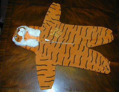 HALLOWEEN COSTUME Tiger Body Suit Orange Black Fur Soft Cute Warm Quality Zipper](Warm Bodies Halloween Costumes)