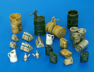 PLUS MODEL PL4022 WWII German Fuel Stock Equipment in 1:48