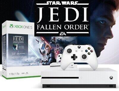 New Xbox One S 1TB Star Wars Jedi: Fallen Order Deluxe Edition Console Bundle