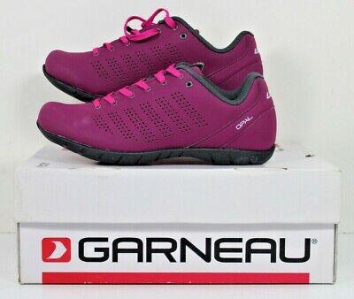 Louis Garneau Womens Urban Cycling Shoe Black//Pink Sz 40 EU//US 9 NIB 1487278-438