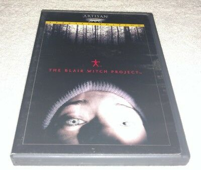 The Blair Witch Project (DVD, 1999, Special Edition) *RARE *HORROR HALLOWEEN (Halloween Projection Movies)