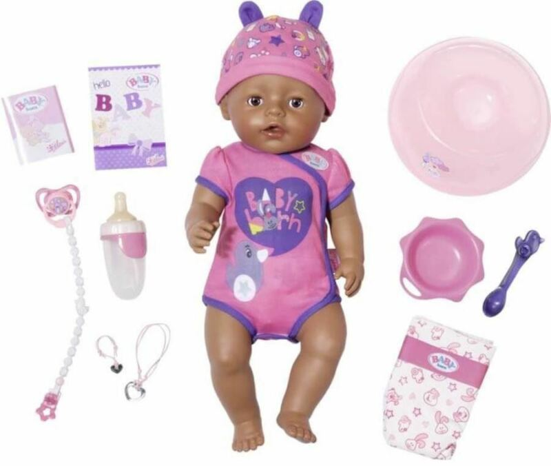 Baby Born Interactive Girl Doll Parts Accessories Zapf Creations 43 cm 17