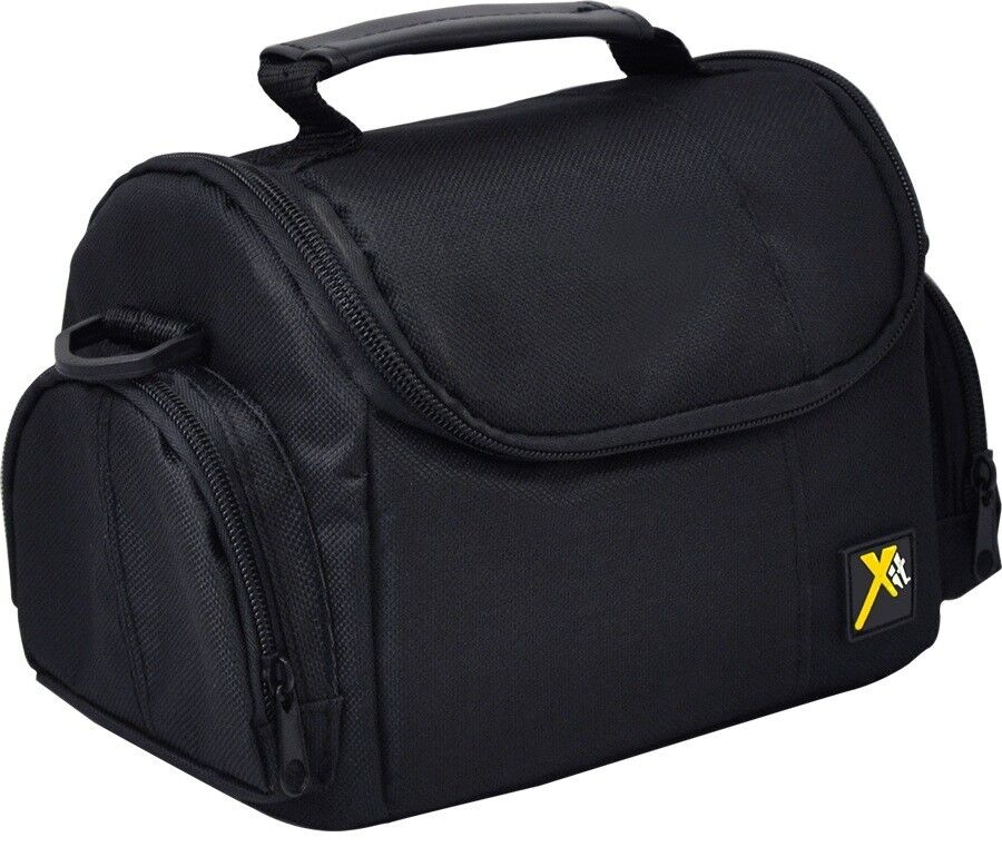 Large Deluxe Camera Carrying Bag Case For Camera Camcorder Nikon Sony Canon