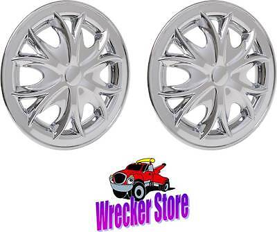 "Set of 2 - 8"" ABS Crome Plated Hub Cap, Trailer, Dollies, Yamaha EZGO Golf Cart for sale  Shipping to Canada"