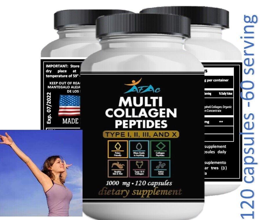 Colagen 1000,Collagen with Vitamin,Colageno Piel Joven,arthritis,best deal 120
