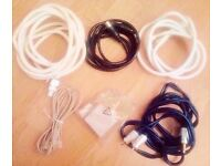 3 Aerial Leads, 1 Microfilter & 1 Lead,1 Audio Jack Cable